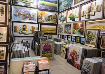 Xưởng tranh sơn dầu Hà Nội