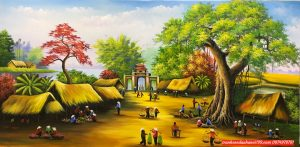tranh phong cảnh đồng quê